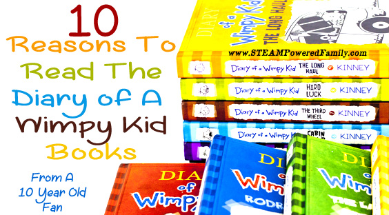 10 Reasons To Read Diary Of A Wimpy Kid Books