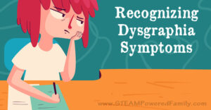 Recognizing dysgraphia symptoms for parents and educators