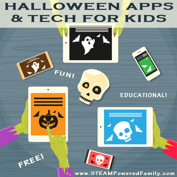 Halloween is an exciting time for kids and a great opportunity for some fun tech learning and play! Check out our picks for free Halloween apps and sites.