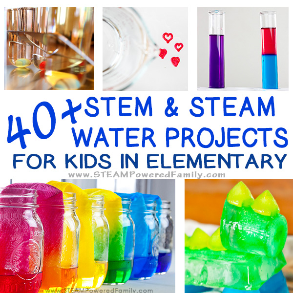 40+ of the best STEM Water Projects for Kids Learn, educate, grow with nature's favourite drink... water! States of matter, density, chem, engineering & more.