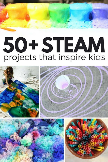 STEAM Kids - 50+ STEAM activities that will inspire and wow kids