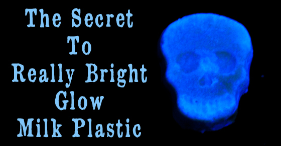 The Secret To Really Bright Glow Milk Plastic