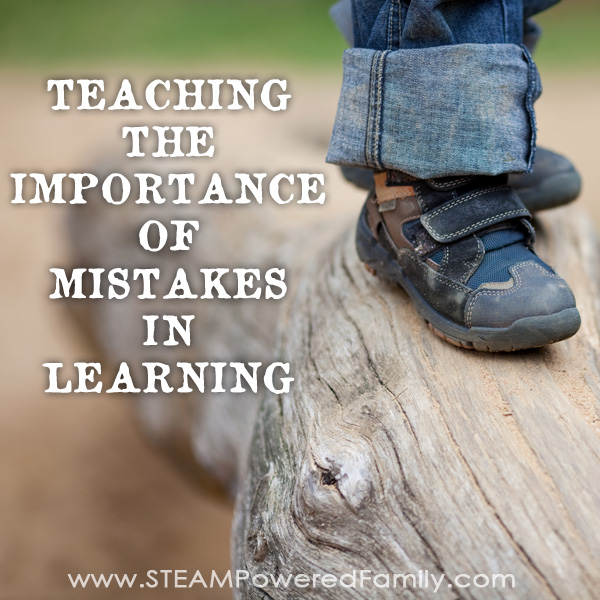 Mistakes in learning are so important. Here is what I told my son that finally has him embracing his mistakes while learning, rather than having a meltdown.