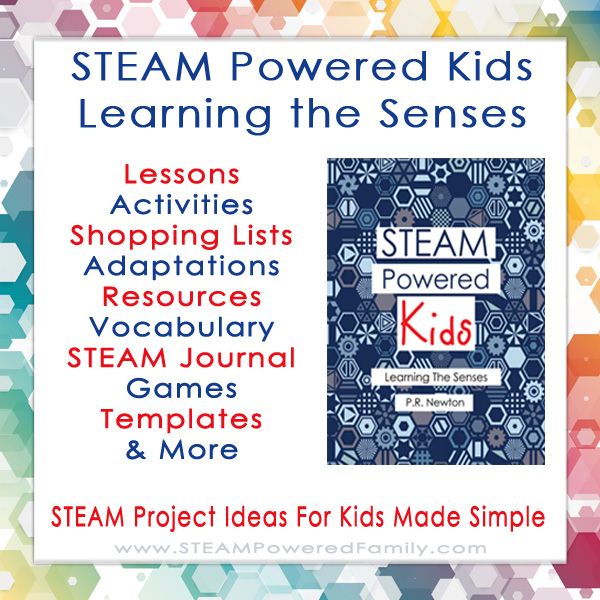 STEAM Powered Kids Learning the Senses eBook