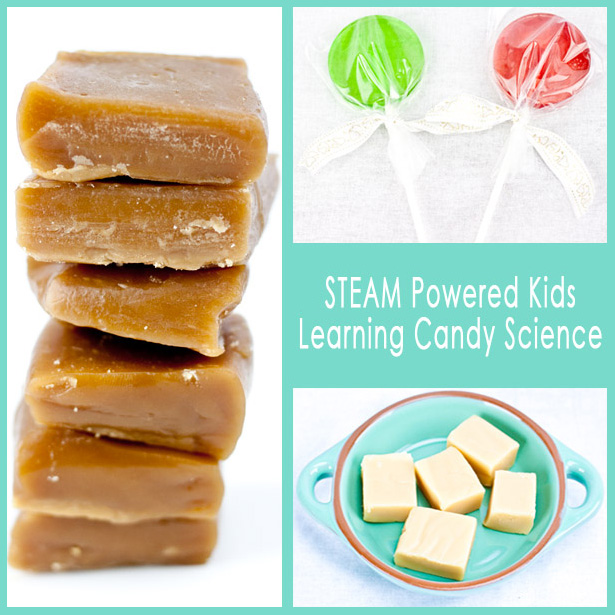 STEAM Powered Kids Learning Candy Science