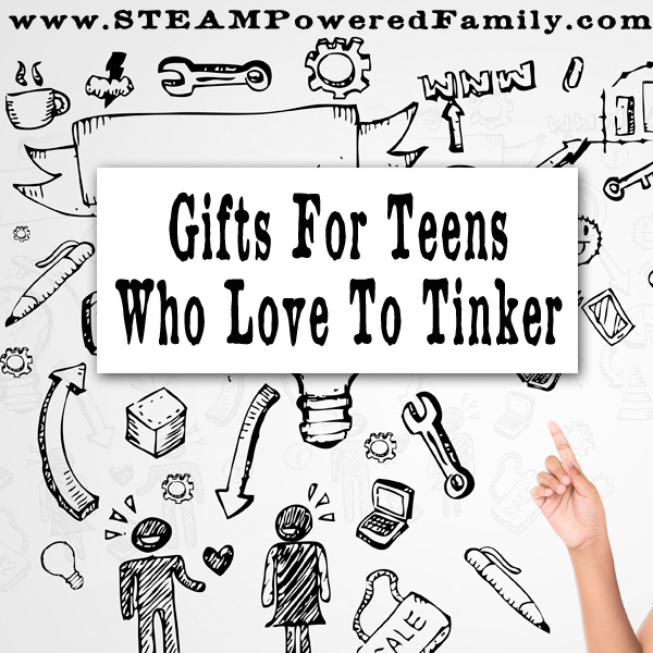 Unique Gifts For Teens Who Love To Tinker. From aspiring blacksmiths to artists to engineers, a curated list of gifts for teens who make, create and tinker.