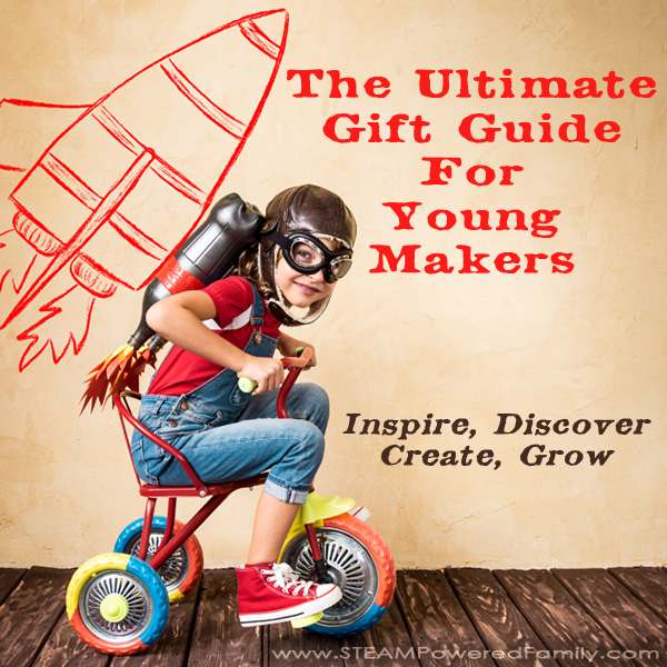 These gifts for young makers will encourage inquiry, curiosity, playing, inventing, discovering and most of all, making! Exciting new products to proven winners. It's all here.