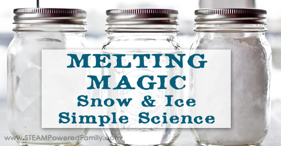 Melting Magic ~ Snow Ice Simple Science