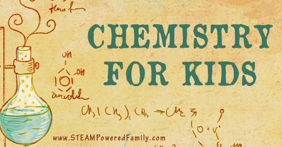 Chemistry For Kids - More than 35 resources, experiments, lessons, books and activities that will inspire young scientists. Lots of science fair ideas.
