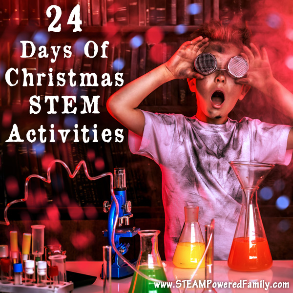 24 days of christmas stem activities secular holiday stem projects
