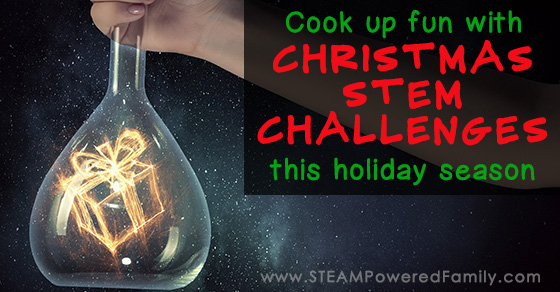 24 Days of Christmas STEM Activities – UPDATED! Even more STEM Challenges!