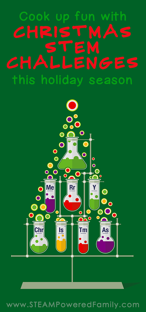 Cook up fun this holiday season with these Christmas STEM Activities and Challenges. Hands on learning the fun way!