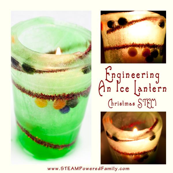 Engineering An Ice Lantern - Winter STEM activity