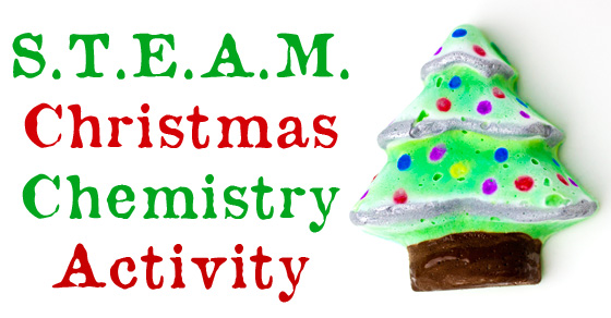 STEAM Christmas Tree Activity – A Christmas Chemistry Experiment