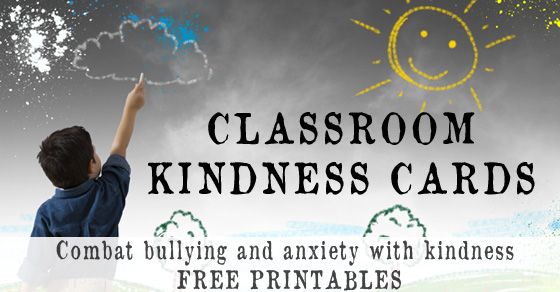 Classroom Kindness Cards – Combat bullying, discrimination and anxiety