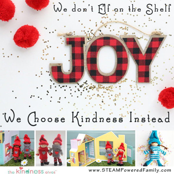 don't elf, kindness instead