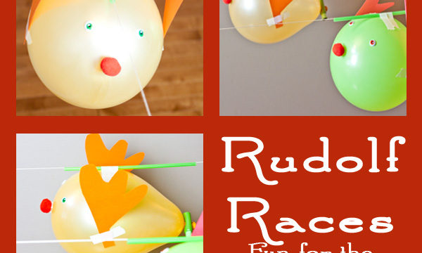 Rudolf Balloon Race – Simple Physics Fun!