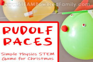 Rudolf Races Physics Challenge for Christmas