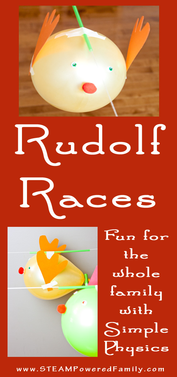 Rudolf Balloon Races Physics For Kids