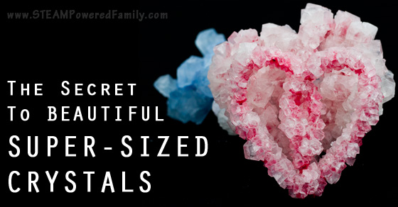 The Secret to Growing Big Crystals
