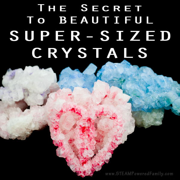 The secret to growing really big crystals