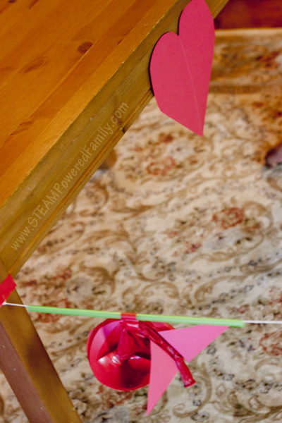 Get everyone moving with this Cupid's Arrow Balloon STEM Challenge. A fun twist on balloon races while learning Physics & Newton's Third Law of Motion.