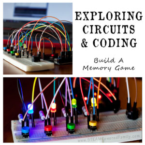 Coding and Electrical Circuits For Kids - Build a memory game using a breadboard and Arduino.