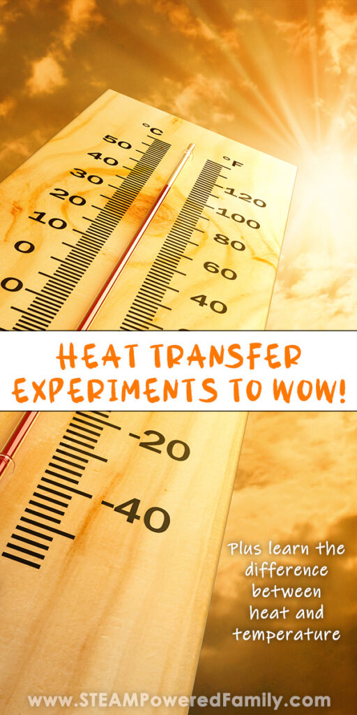 Heat transfer projects and science experiments