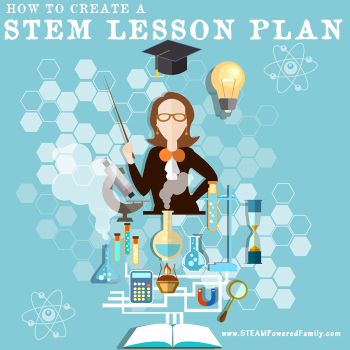 Create engaging and highly educational STEM lesson plans with these 5 simple steps that can turn any topic into a STEM activity. Free STEM lesson planner