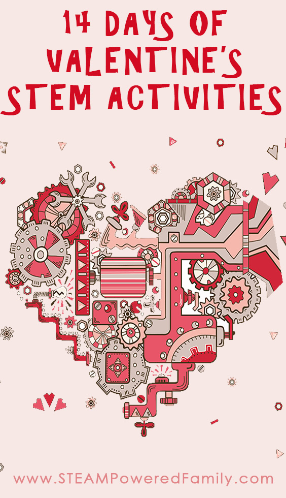 14 Days Of Valentine S Stem Activities