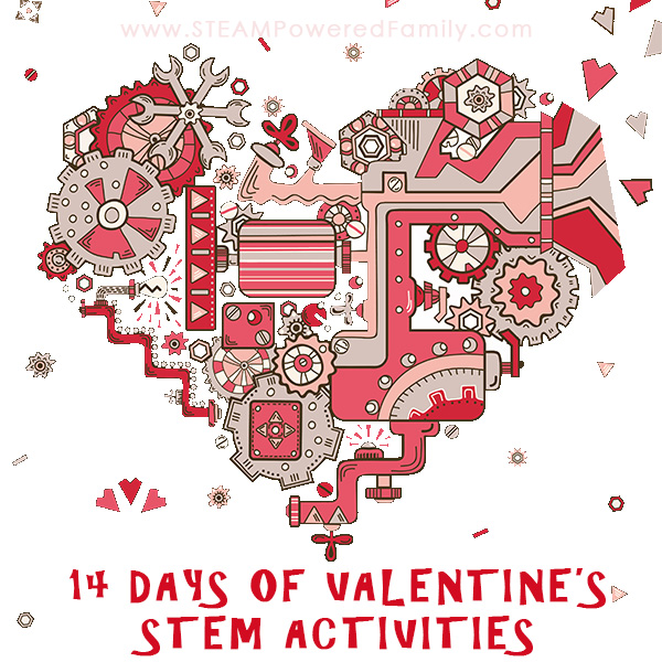 Countdown To Valentineu0027s Day With Our 14 Days Of Valentineu0027s STEM Activities  For Elementary Aged Children