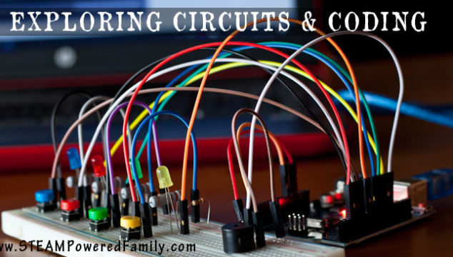 Coding and Electrical Circuits For Kids – STEM Activity for the Makers of Tomorrow