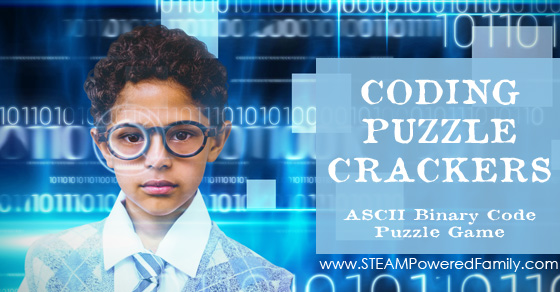Coding Puzzle Crackers – ASCII Binary Code Puzzle Game