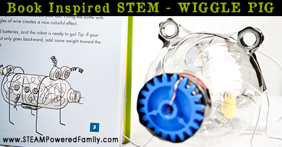 Wiggle Pig – Book Inspired STEM Activity