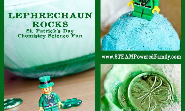 Leprechaun Rocks – Fun St. Patrick's Day Chemistry Experiment