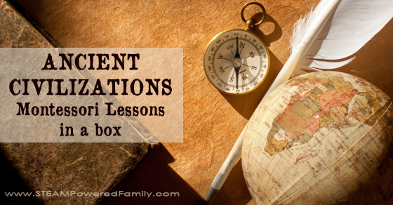 Ancient Civilizations – Montessori Lessons In A Box For Young Historians
