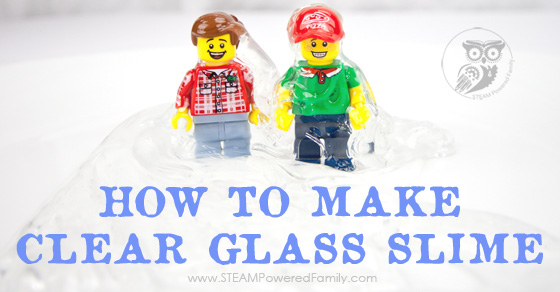 How To Make Crystal Clear Glass Slime – 2 Methods with Saline