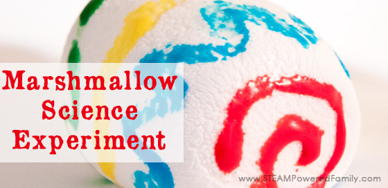Marshmallow Science Experiment – Candy STEAM Activity