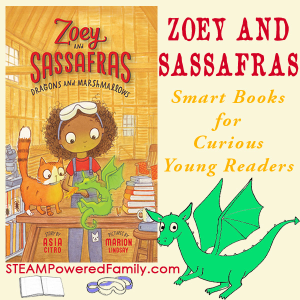 Zoey and Sassafras - Smart Books for Curious Young Readers. Encourage a love of reading and science with this captivating early chapter book fantasy series.