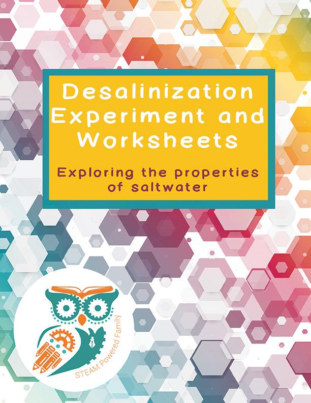 Desalinization experiment workbook