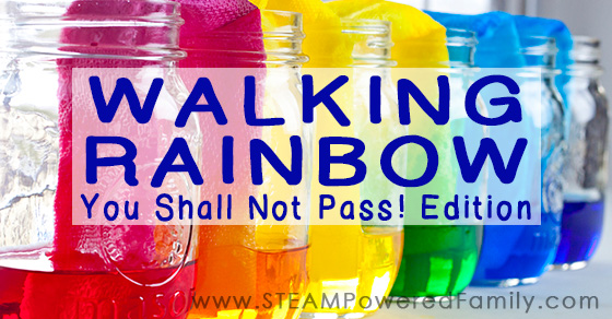 Walking Rainbow – You Shall Not Pass! Edition