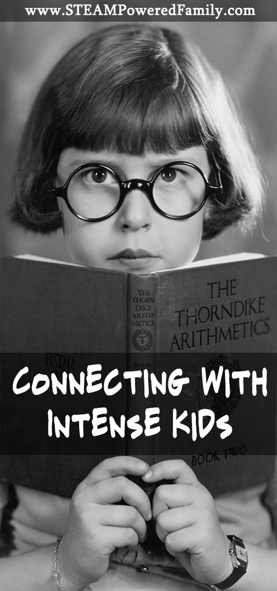 Truly intense kids can be draining. It never changes. Traditional parenting techniques don't work. But an intense child has the passion to change the world.