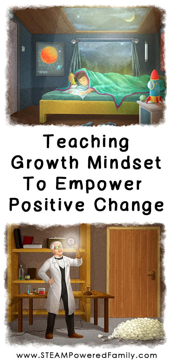 Teaching Growth Mindset to empower self believe and positive change. Big Life Growth Mindset Journal