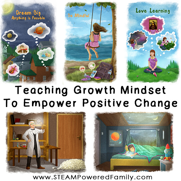Teaching Growth Mindset. Foster positivity, inspire big dreams, empower children to be a force for positive change with Growth Mindset lessons.