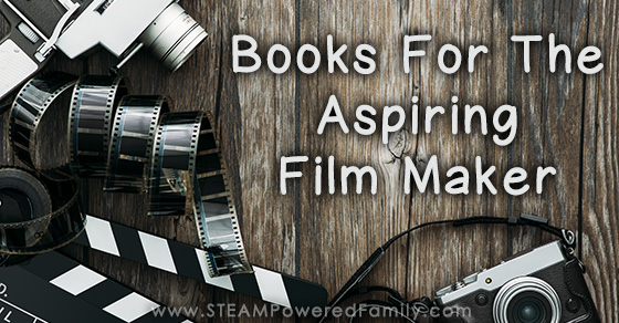 Build a bookshelf for your aspiring film maker with these picks. Perfect for your younger film makers, to your teens and adults that love to make movies.