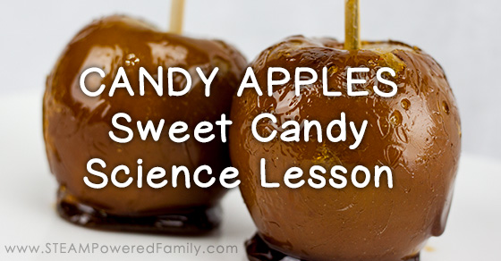 Candy Apples Recipe – Sweet Candy Science
