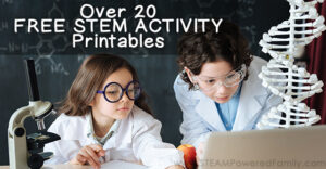 Over 25 awesome free STEM activities, worksheets, workbooks, printables and more. Excellent tools for the classroom to inspire STEM learning.