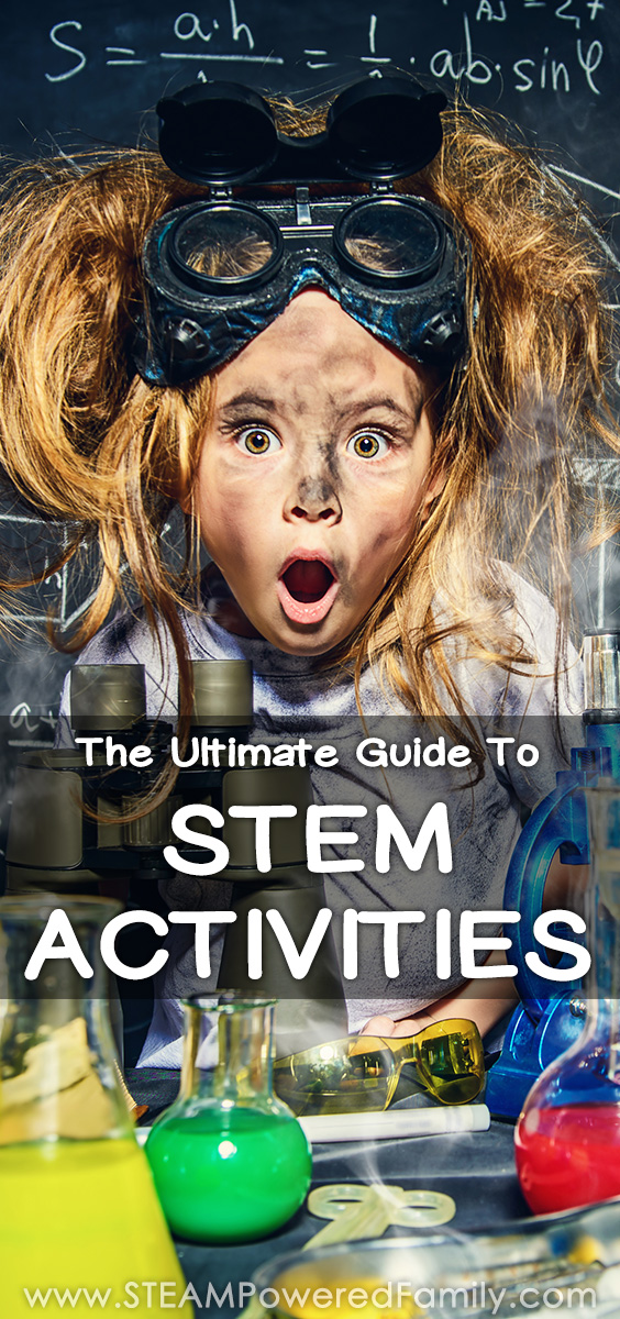A comprehensive guide to STEM activities: understand STEM, the benefits, how to create STEM activities & lesson plans, 100+ STEM Activities #STEMActivities #STEMActivity #STEAMActivities #STEMLessons #STEMProjects #STEMChallenges