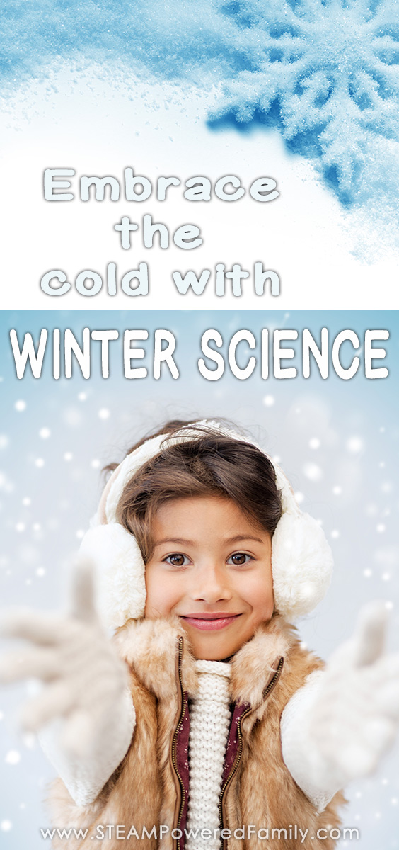 Over 20 indoor and outdoor winter science labs to help you embrace the cold and explore hands on learning when mother nature becomes one gigantic freezer.