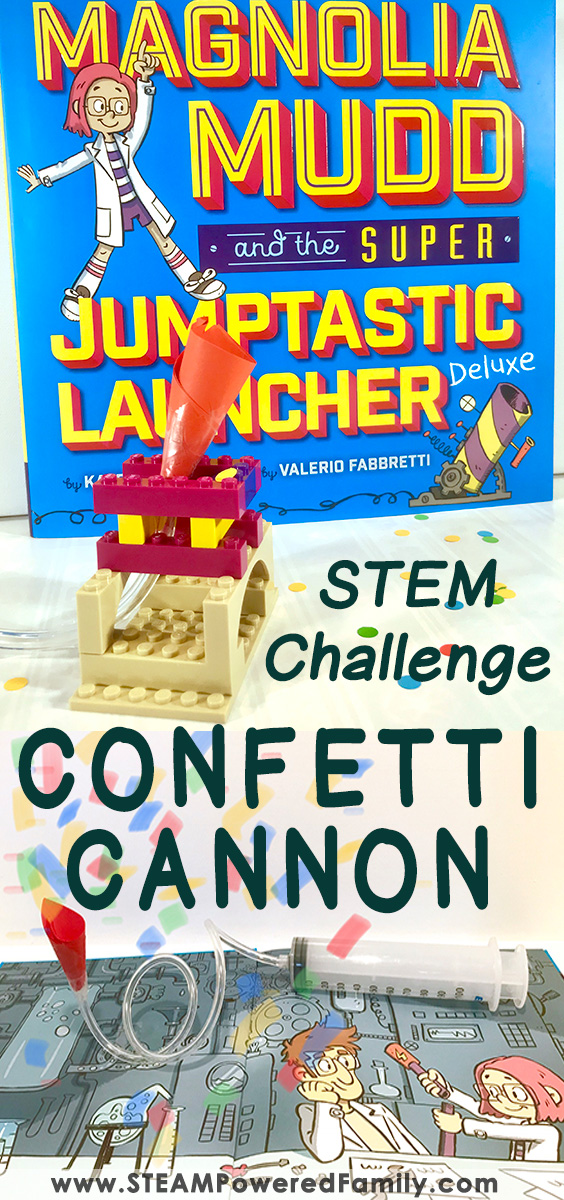 Confetti Cannon STEM Challenge - 2 Design Challenges For